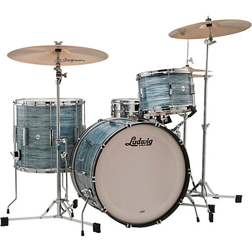 Ludwig Club Date 3-Piece Fab Shell Pack with 22 in. Bass Drum thumbnail