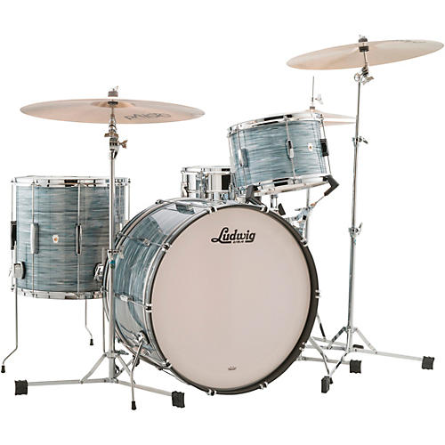 Ludwig Club Date 3-Piece Pro Beat Shell Pack with 24 in. Bass Drum thumbnail