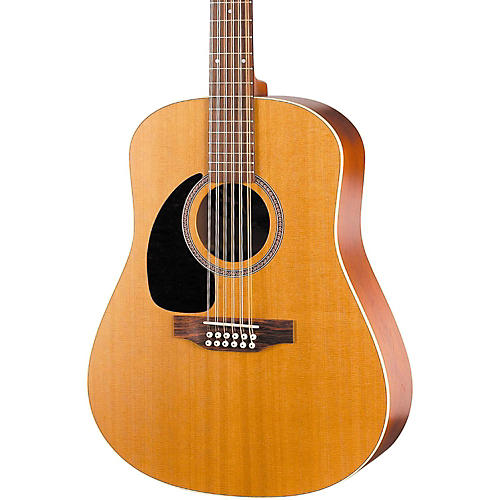 Seagull Coastline Series S12 Dreadnought Left-Handed 12-String Acoustic Guitar-thumbnail