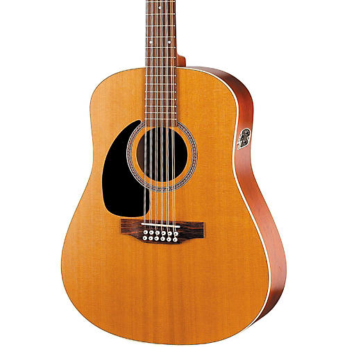Seagull Coastline Series S12 Left-Handed 12-String QI Dreadnought Acoustic-Electric Guitar thumbnail