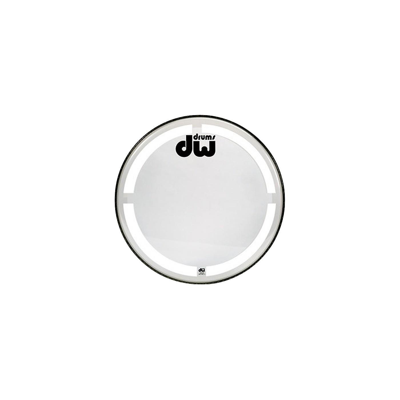 DW Coated Clear Bass Drum Head thumbnail