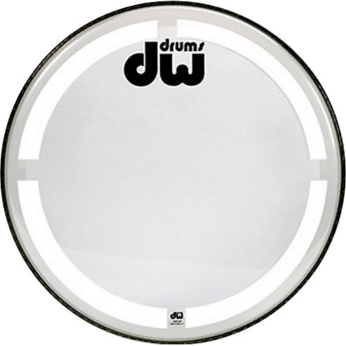 DW Coated Clear Bass Drum Head thumbnail