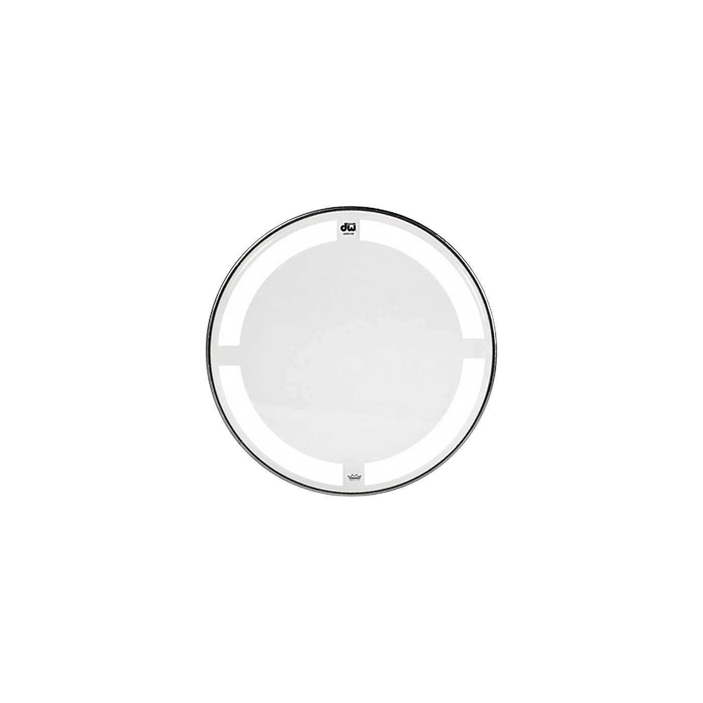 DW Coated/Clear Tom Batter Drumhead thumbnail