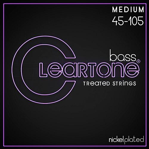 Cleartone Coated Medium Electric Bass Guitar Strings thumbnail
