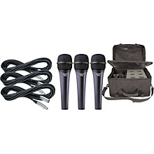 Electro-Voice Cobalt 7 Three Pack with Cables & Bag