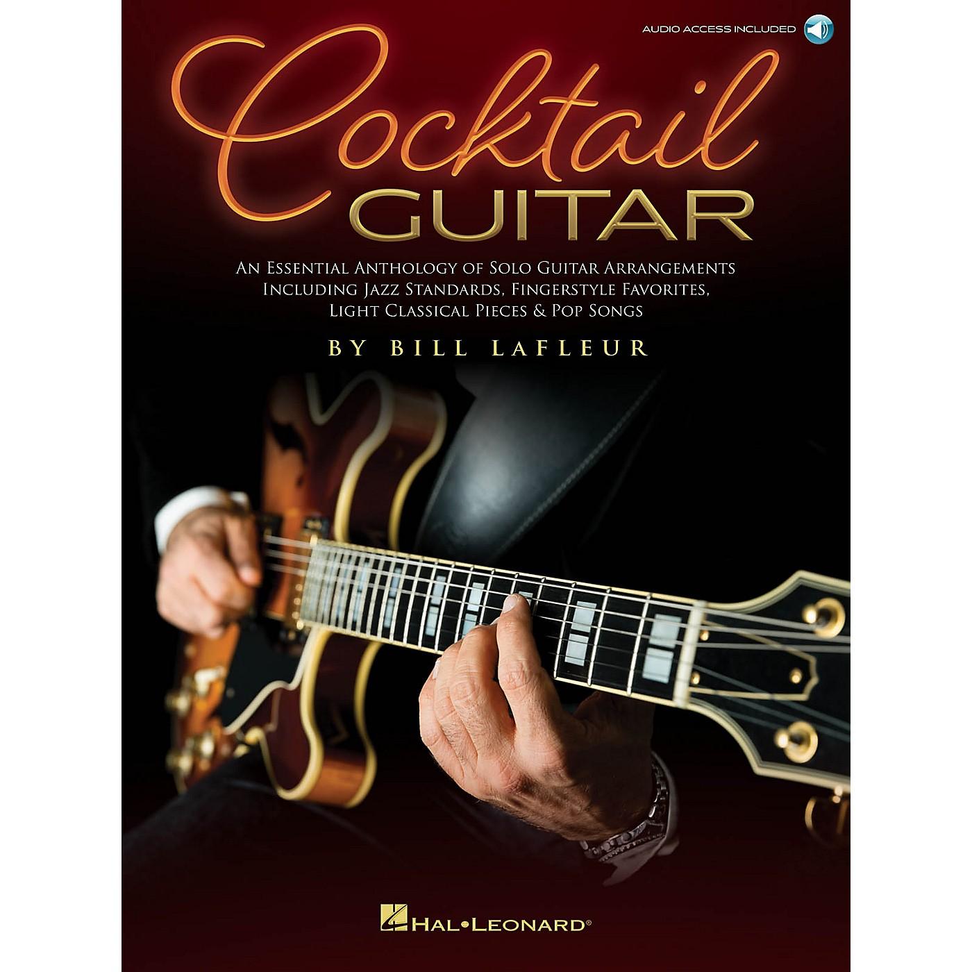 Hal Leonard Cocktail Guitar - An Essential Anthology Of Solo Guitar Arrangements Book/Audio Online thumbnail