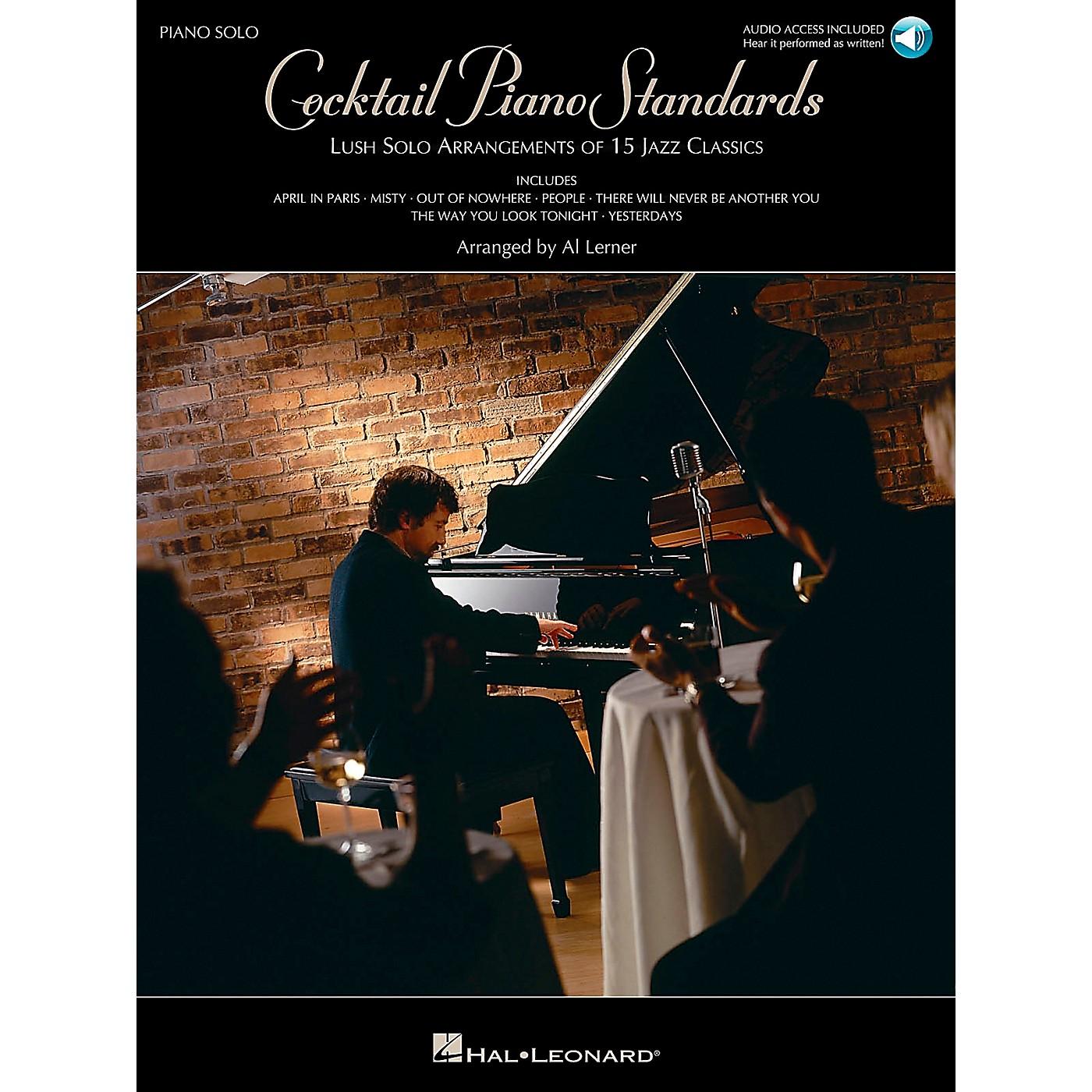 Hal Leonard Cocktail Piano Standards Book/CD Piano Solos thumbnail