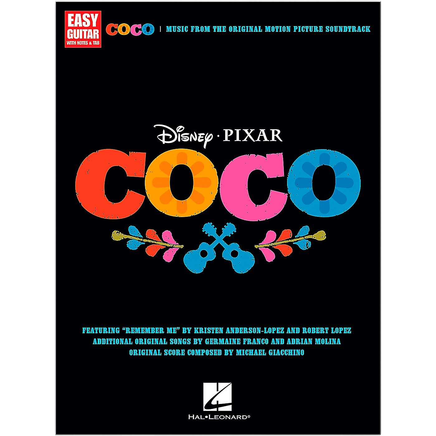 Hal Leonard Coco - Music From The Motion Picture Soundtrack for Easy Guitar Tab thumbnail