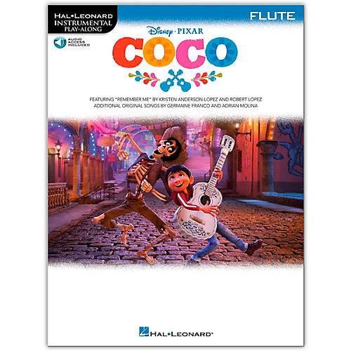 Hal Leonard Coco For Flute - Instrumental Play-Along (Book/Audio Online) thumbnail