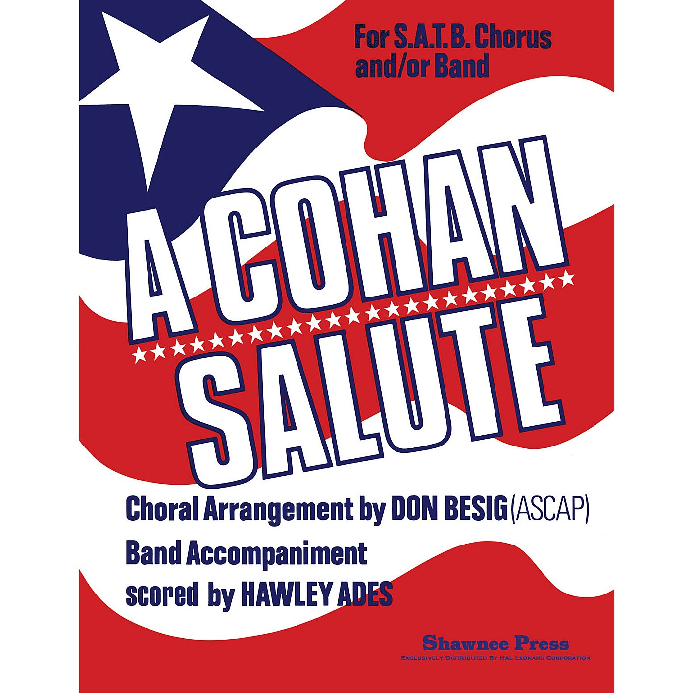 Shawnee Press Cohan Salute Concert Band Level 3 Arranged by Hawley Ades thumbnail