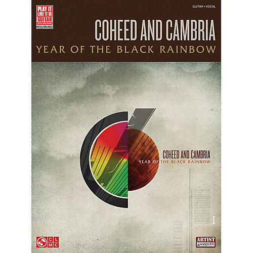 Cherry Lane Coheed And Cambria - Year Of The Black Rainbow Guitar Tab Songbook thumbnail