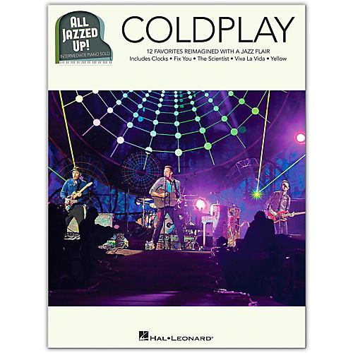 Hal Leonard Coldplay - All Jazzed Up!  Intermediate Piano Solo Songbook thumbnail