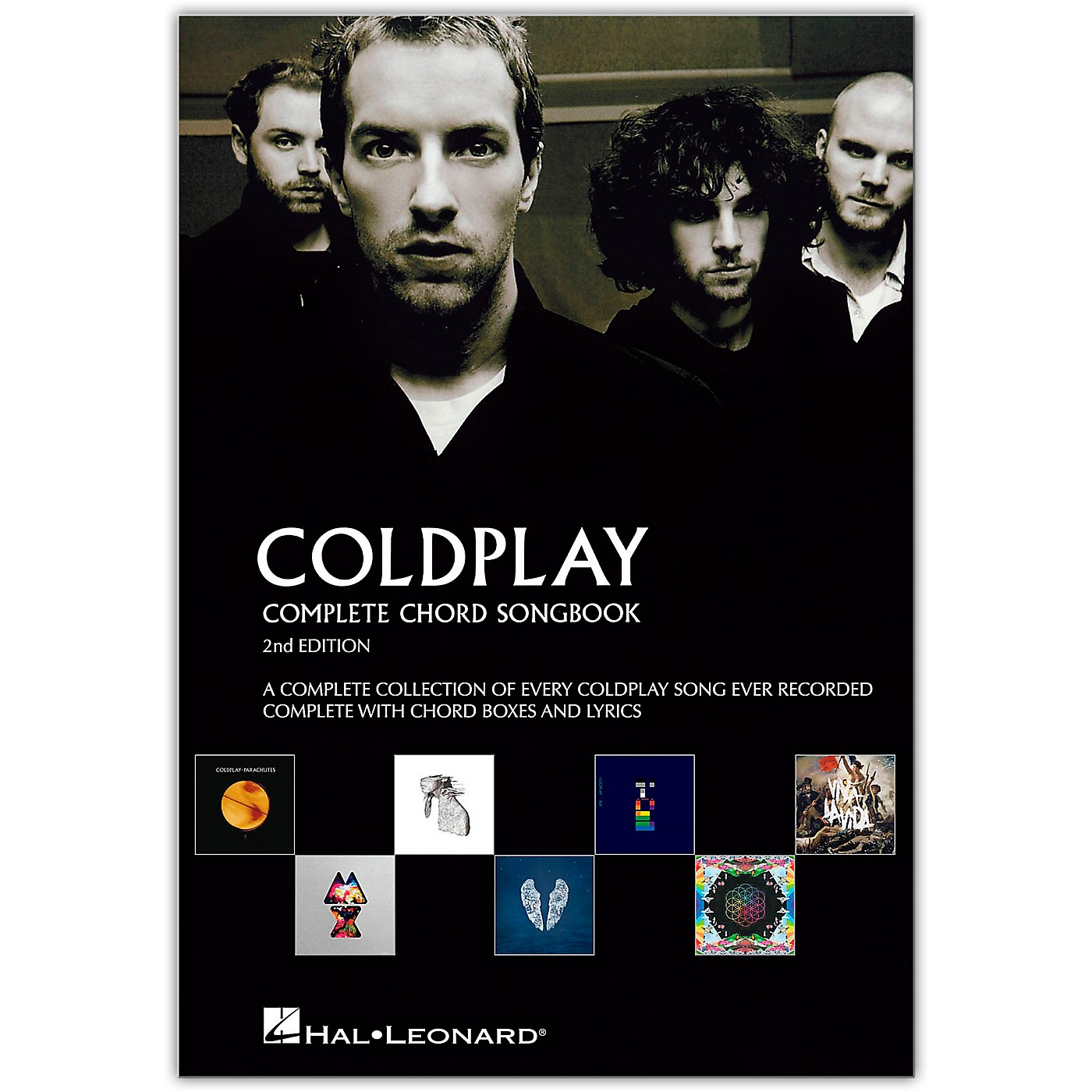 Music Sales Coldplay - Complete Chord Songbook - Guitar Chord Songbook Series (2nd Edition) thumbnail