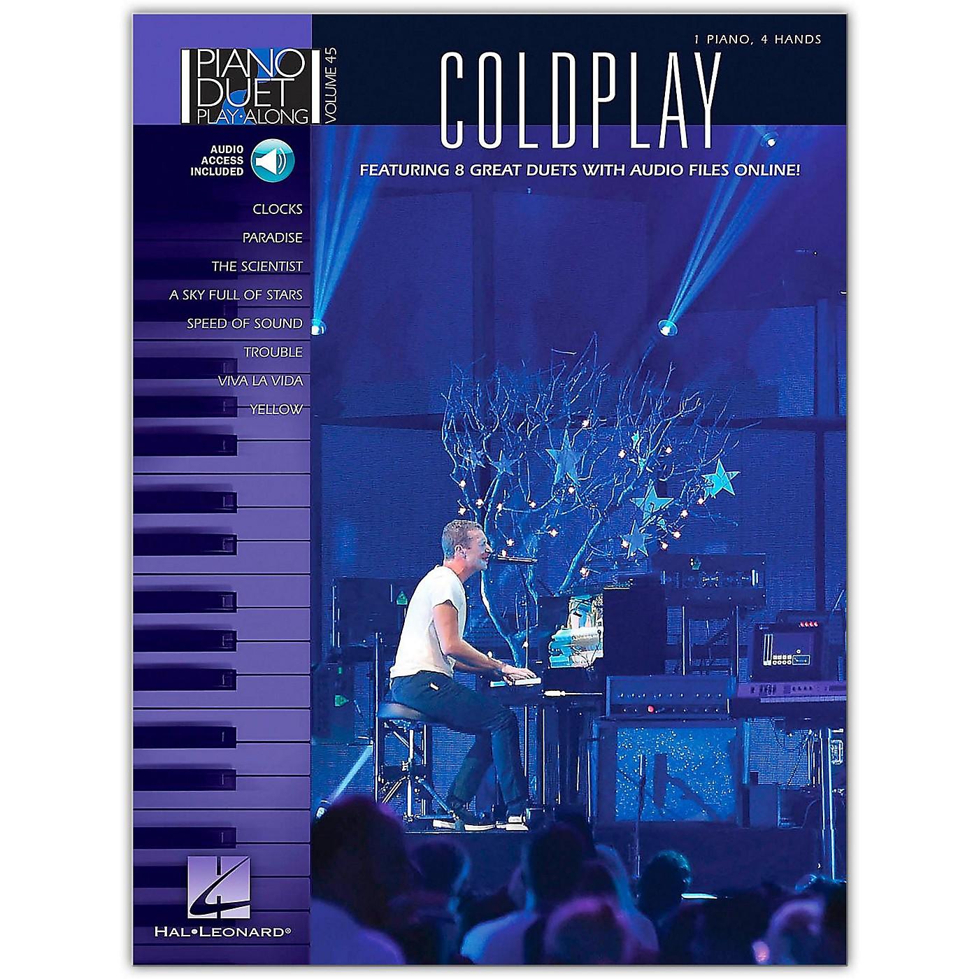Hal Leonard Coldplay - Piano Duet Play-Along Volume 45 Book/Online Audio thumbnail