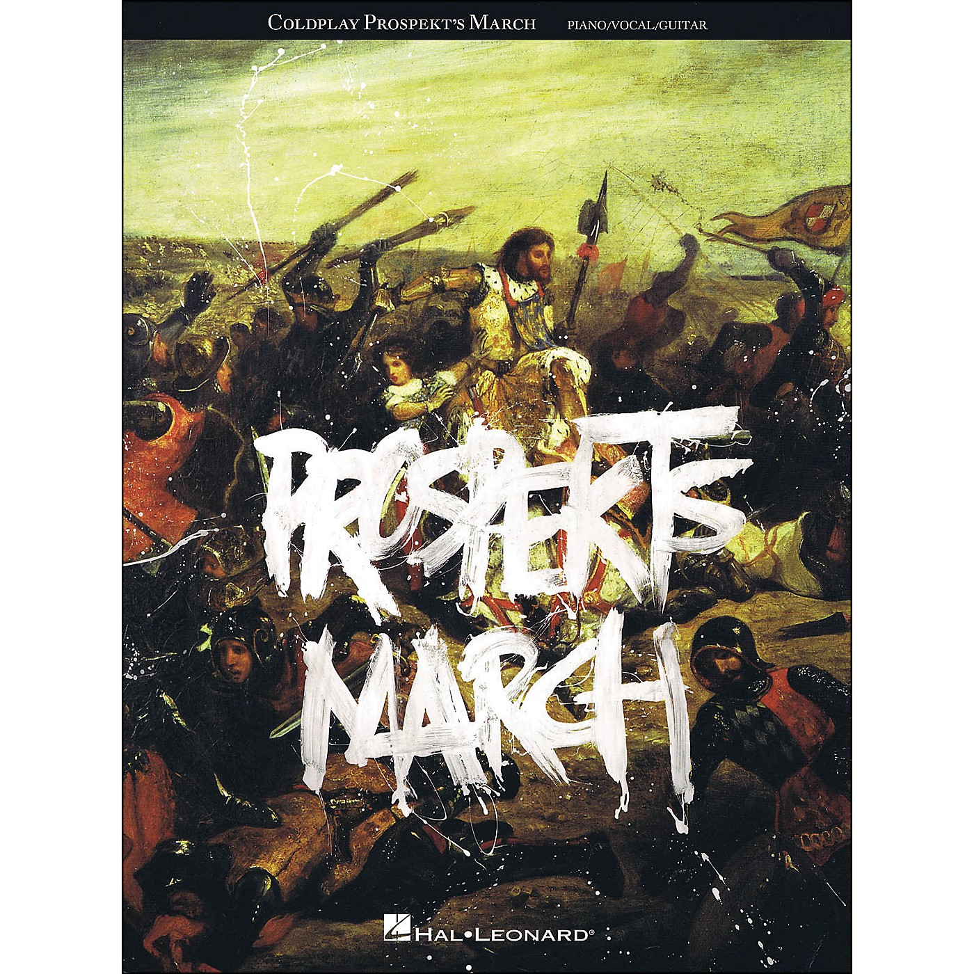 Hal Leonard Coldplay - Prospekts March arranged for piano, vocal, and guitar (P/V/G) thumbnail