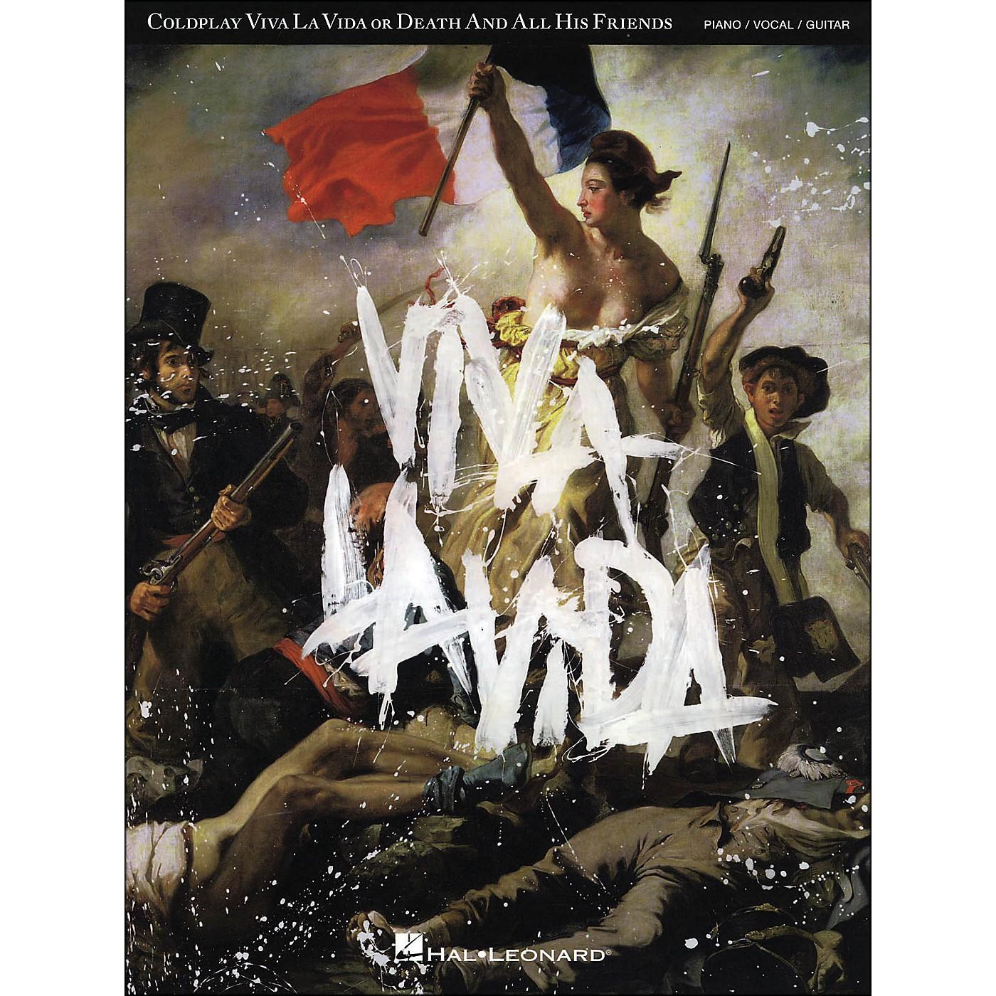 Hal Leonard Coldplay - Viva La Vida arranged for piano, vocal, and guitar (P/V/G) thumbnail