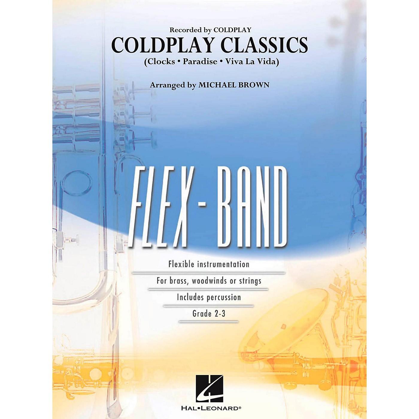 Hal Leonard Coldplay Classics Concert Band Flex-Band Series thumbnail