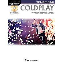 Hal Leonard Coldplay For Tenor Sax - Instrumental Play-Along CD/Pkg