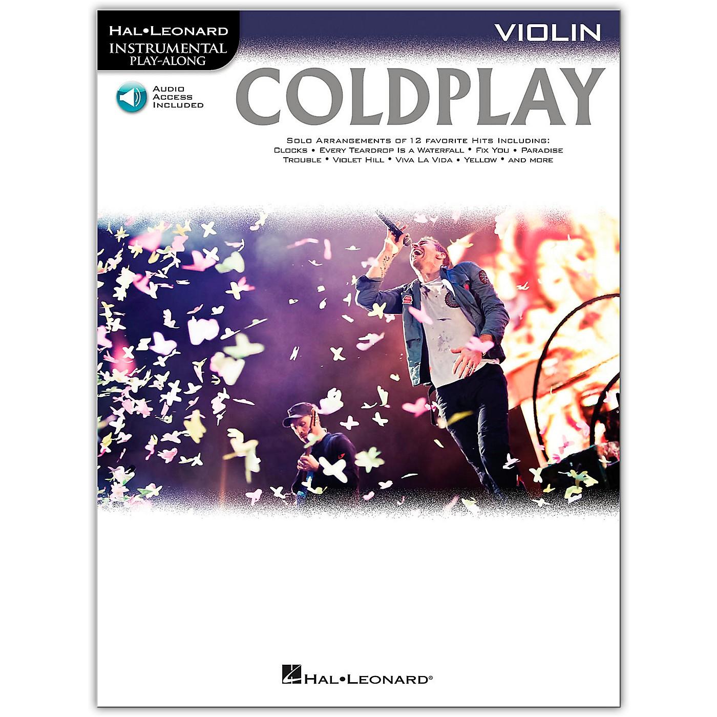 Hal Leonard Coldplay For Violin - Instrumental Play-Along Book/Online Audio thumbnail