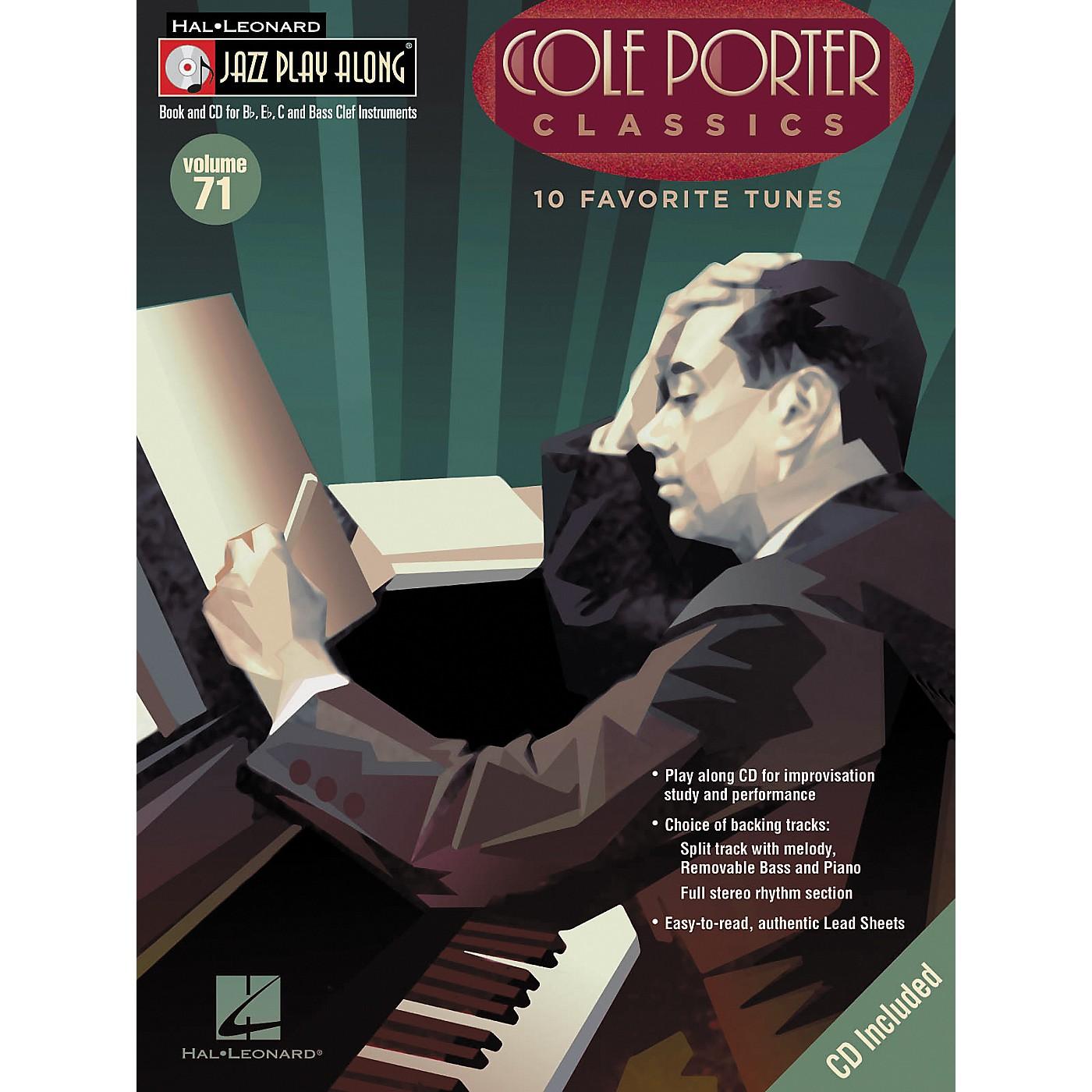 Hal Leonard Cole Porter Classics - Jazz Play Along Volume 71 Book with CD thumbnail