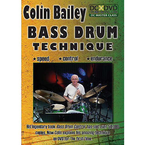 The Drum Channel Colin Bailey - Bass Drum Technique DVD thumbnail