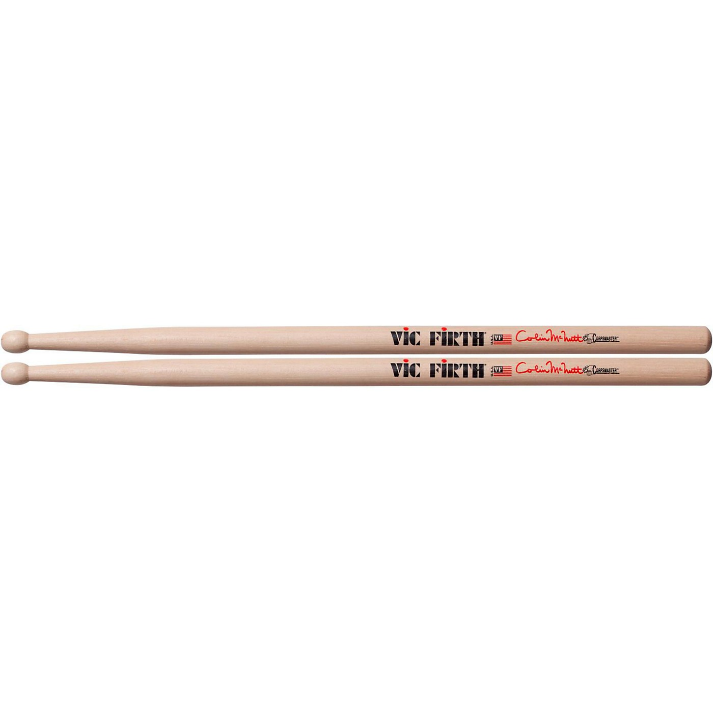 Vic Firth Colin McNutt Signature Marching Snare Sticks thumbnail
