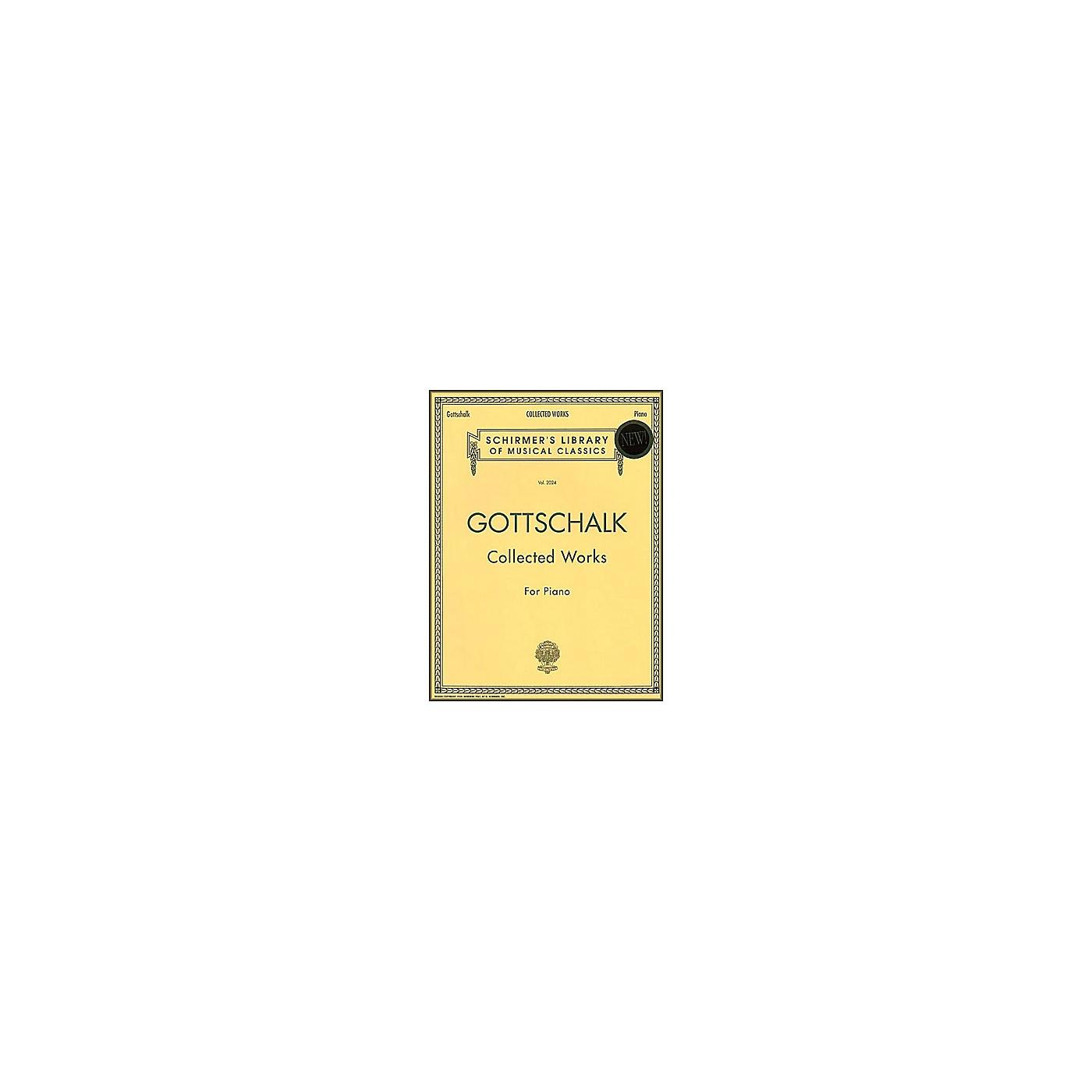 G. Schirmer Collected Works Gottschalk Piano Centennial Edition By Gottschalk thumbnail