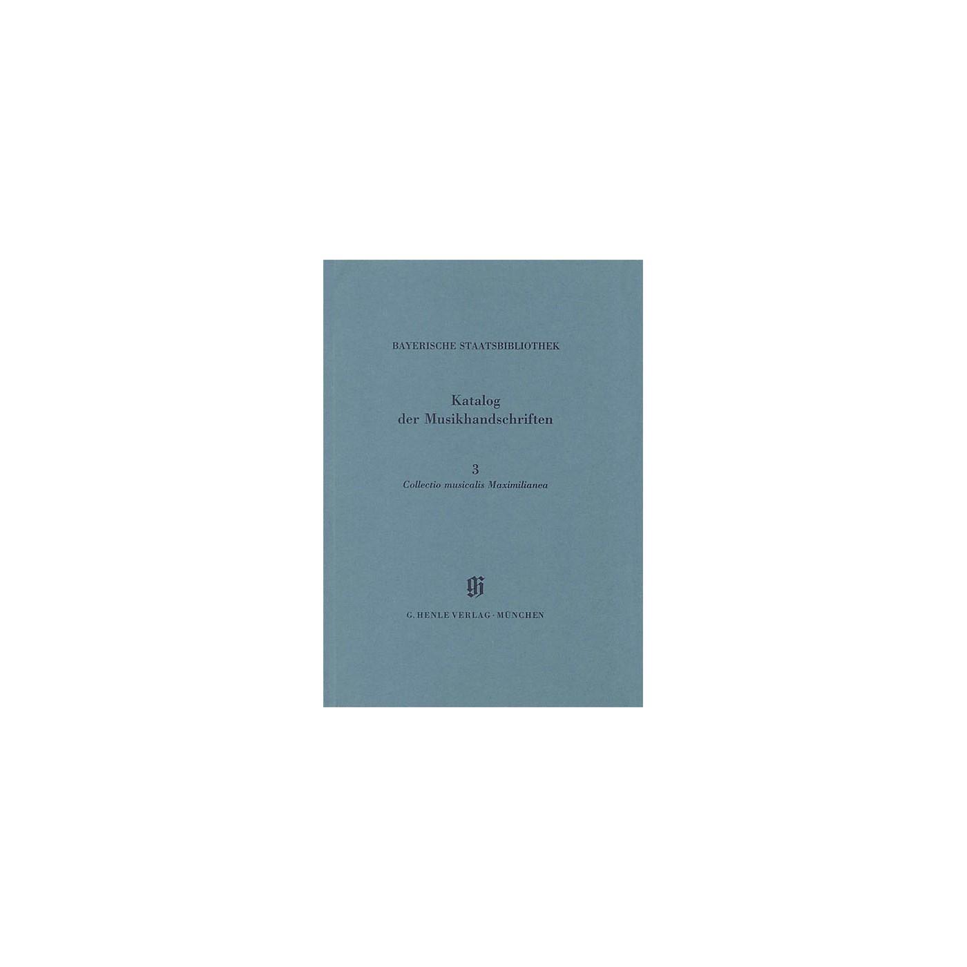 G. Henle Verlag Collectio Maximilianea Henle Books Series Softcover thumbnail