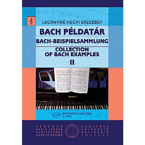 Editio Musica Budapest Collection Of Bach Examples EMB Series thumbnail