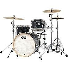 "DW Collectors Series 3-Piece Finish Ply Shell Pack with 20"" Bass Drum and Chrome Hardware"
