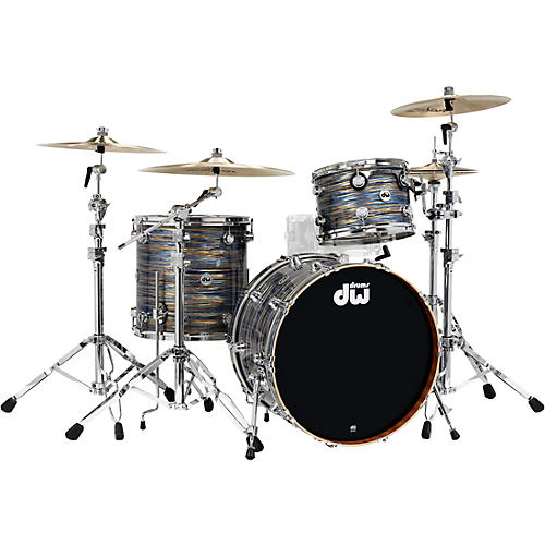 DW Collector's Series 3-Piece Maple/Mahogany Finish Ply Shell Pack with Chrome Hardware thumbnail
