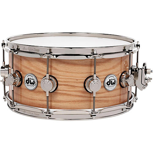 DW Collector's Series Lacquer Custom Oak Snare Drum thumbnail
