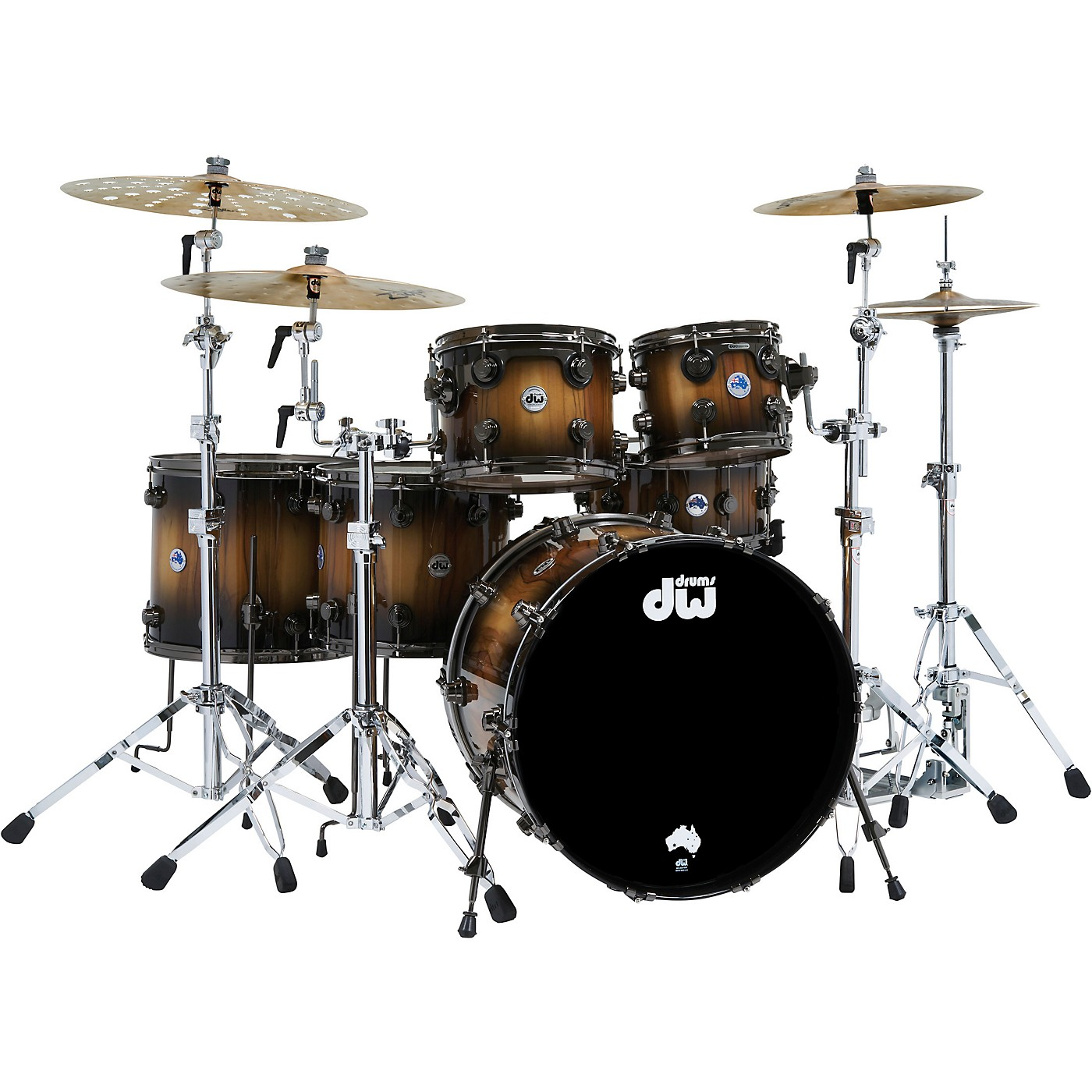 DW Collector's Series Limited Edition Pure Tasmanian Timber 6-Piece Shell Pack thumbnail