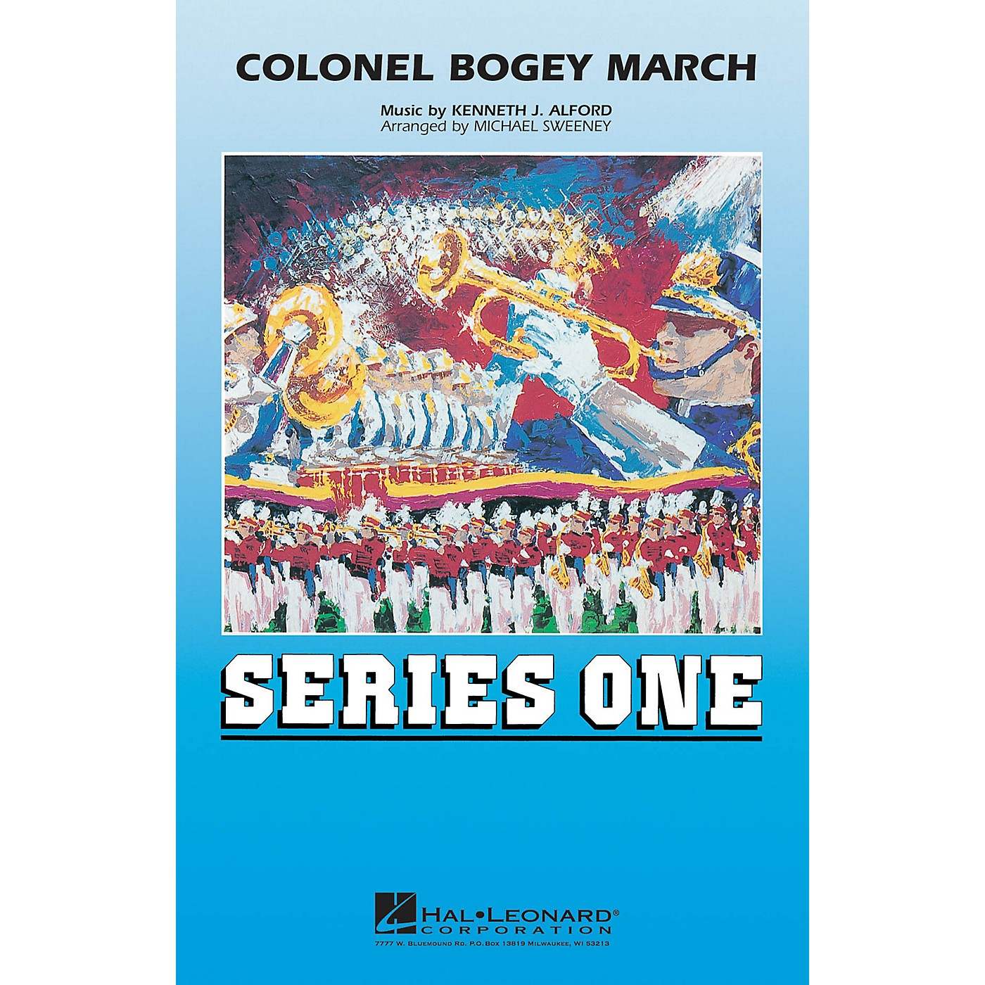 Hal Leonard Colonel Bogey March Marching Band Level 2 Arranged by Michael Sweeney thumbnail