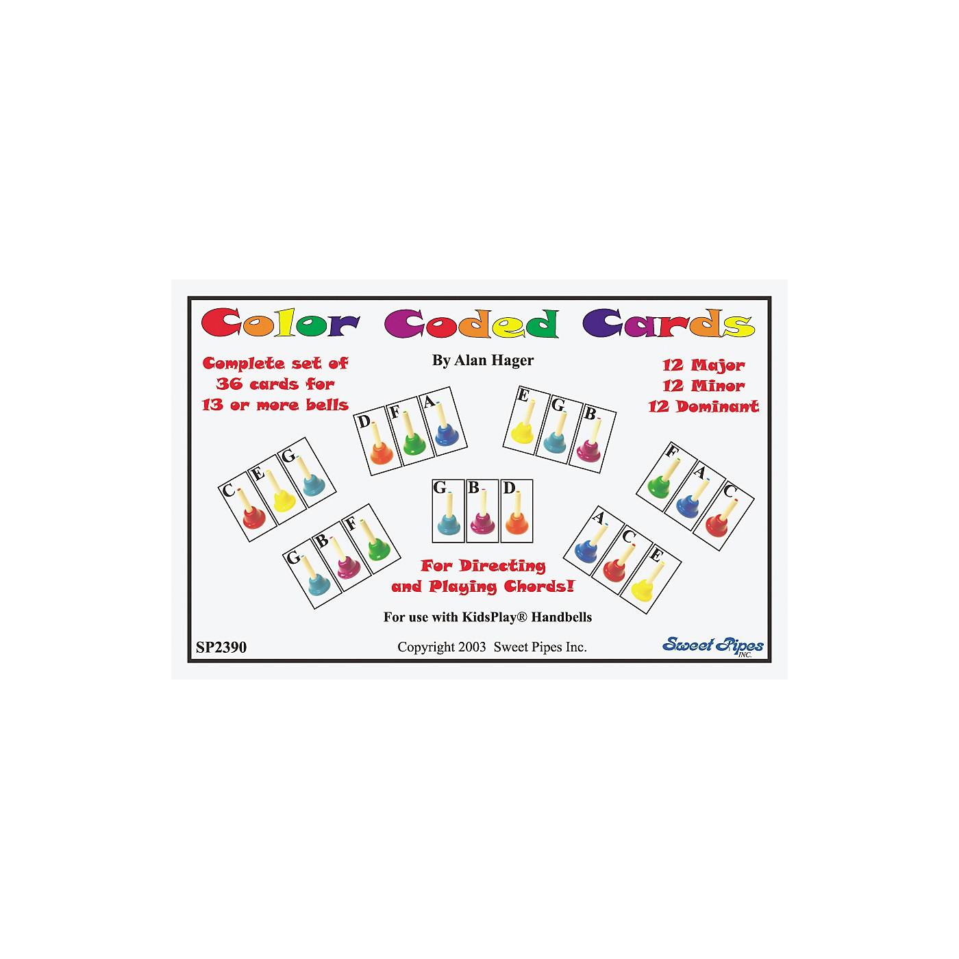 Rhythm Band Color Coded Handbell Cards/36 Chords thumbnail