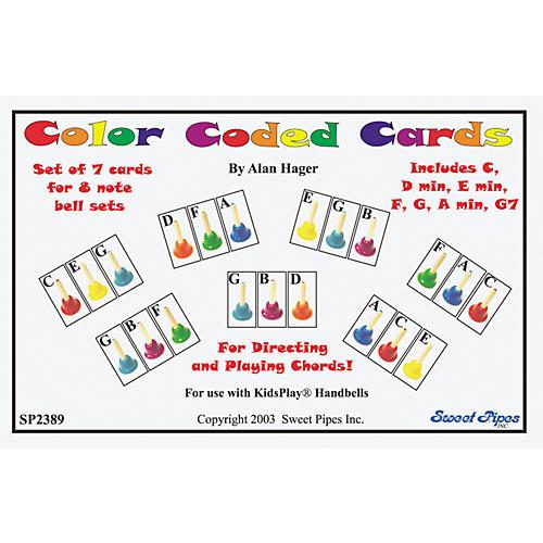 Rhythm Band Color-Coded Handbell Cards/7 Chords thumbnail