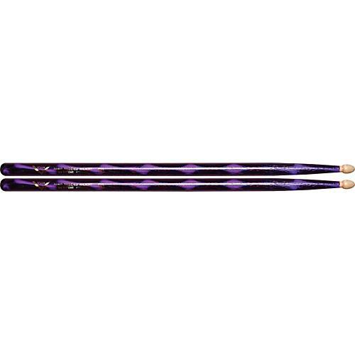 Vater Color Wrap Wood Tip Sticks - Pair-thumbnail