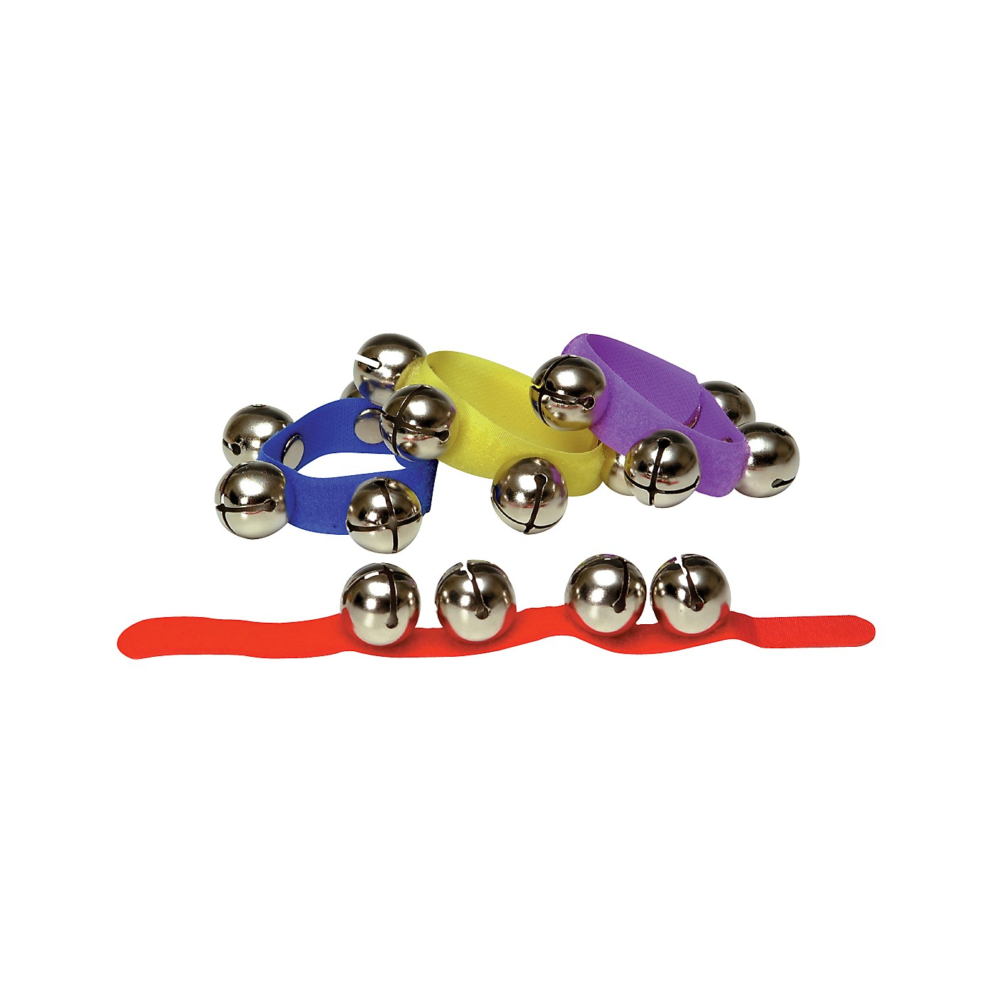 Rhythm Band Colored Velcro Wrist and Ankle Bells thumbnail