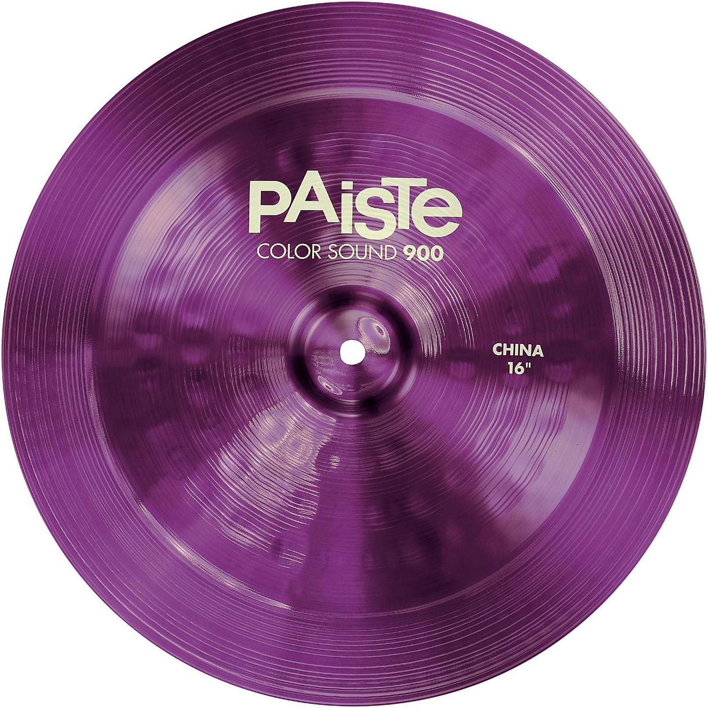 Paiste Colorsound 900 China Cymbal Purple thumbnail
