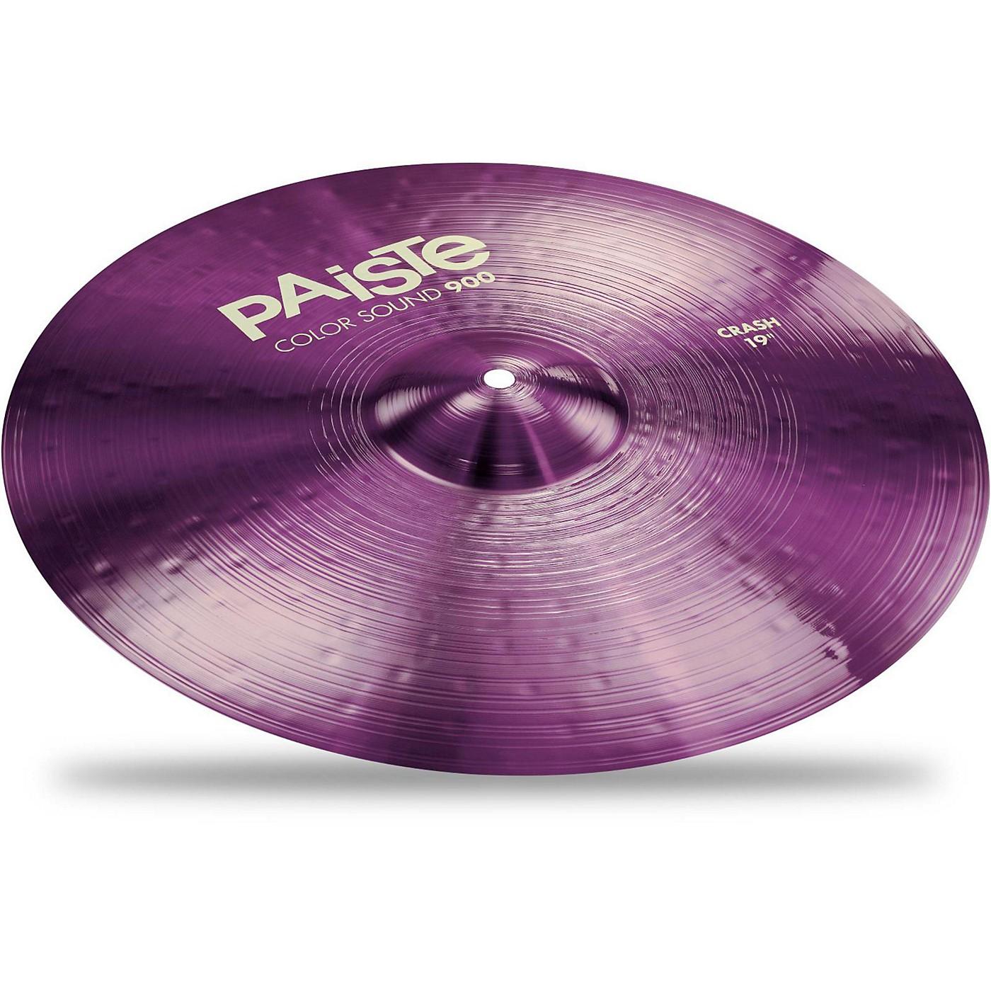 Paiste Colorsound 900 Crash Cymbal Purple thumbnail