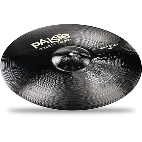 Paiste Colorsound 900 Heavy Crash Cymbal Black thumbnail
