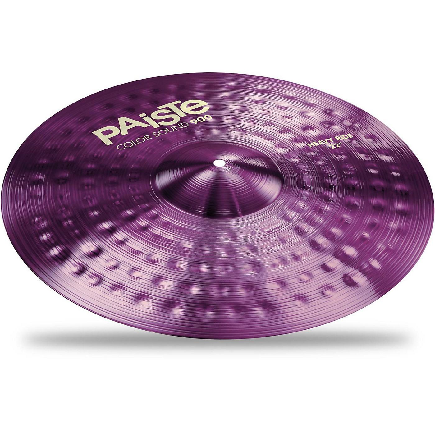 Paiste Colorsound 900 Heavy Ride Cymbal Purple thumbnail