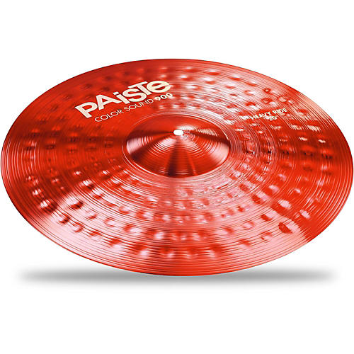 Paiste Colorsound 900 Heavy Ride Cymbal Red thumbnail