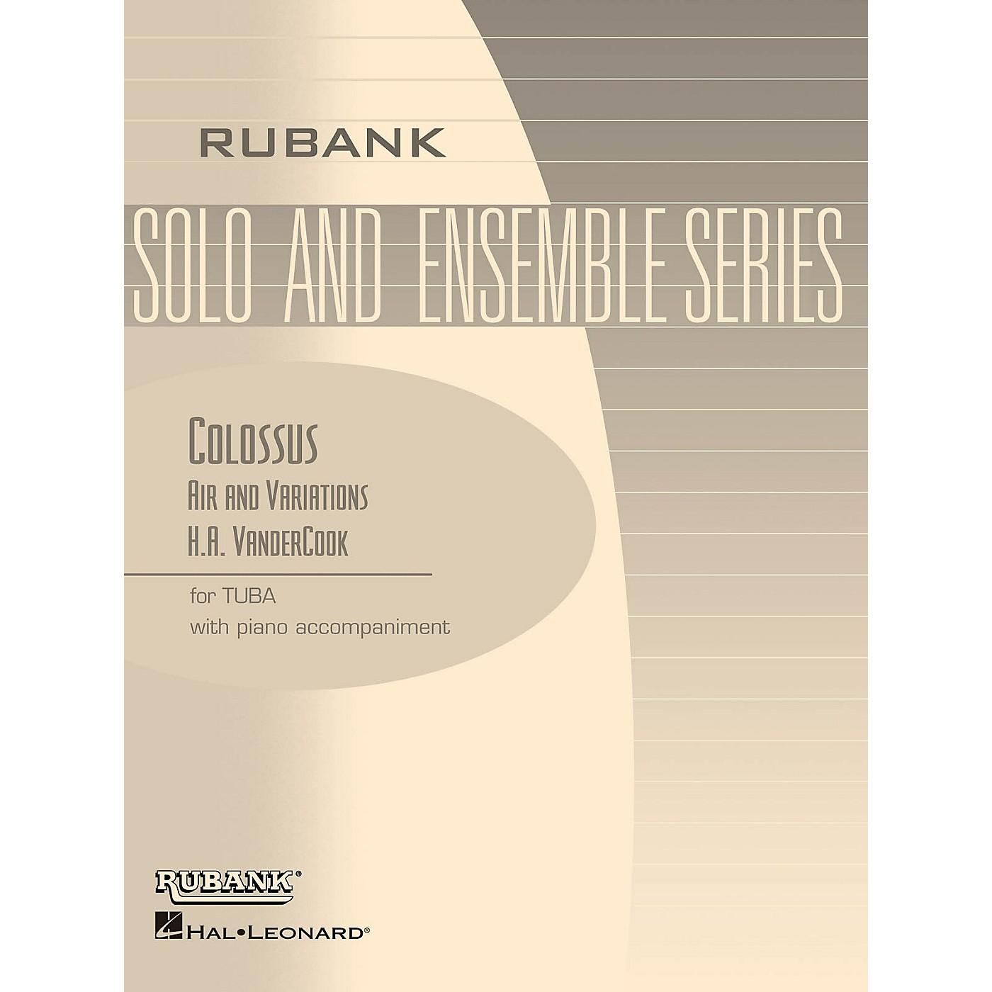 Rubank Publications Colossus - Air and Variations Rubank Solo/Ensemble Sheet Series Softcover thumbnail