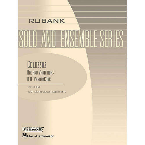 Rubank Publications Colossus - Air and Variations Rubank Solo/Ensemble Sheet Series Softcover thumbnail