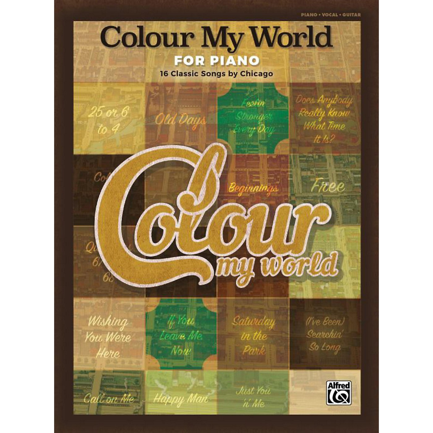 Alfred Colour My World for Piano Piano/Vocal/Guitar Songbook thumbnail