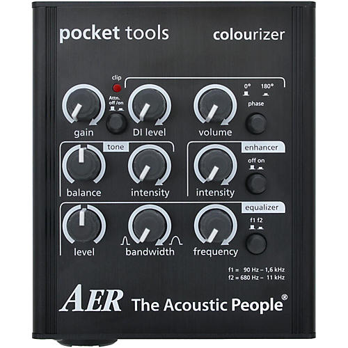 AER Colourizer-2 Acoustic Guitar Direct Box and Preamp thumbnail