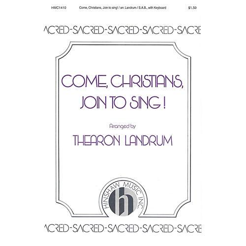 Hinshaw Music Come, Christians, Join to Sing! SAB thumbnail