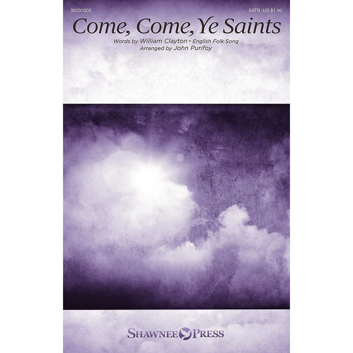 Shawnee Press Come, Come, Ye Saints SATB arranged by John Purifoy thumbnail