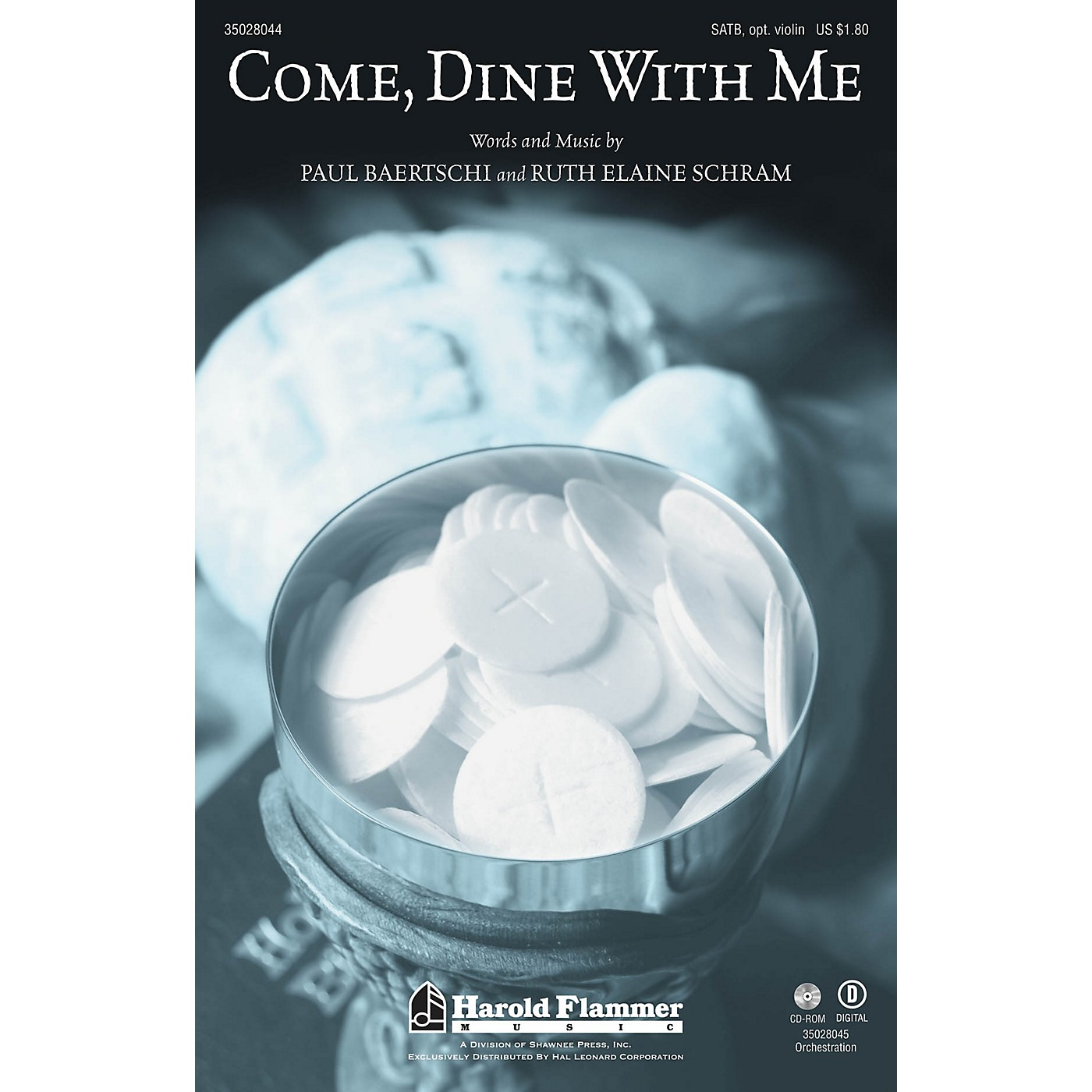 Shawnee Press Come, Dine With Me SATB composed by Paul Baertschi thumbnail